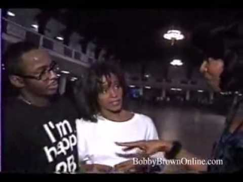 whitney Houston and bobby interview 1994