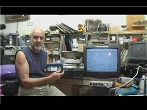 VHS & VCR Repair : How to Clean VCR Heads