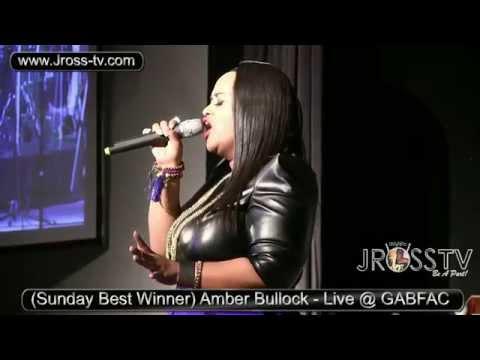 """James Ross @ (Sunday Best Winner) Amber Bullock - """"Whom Shall I Fear"""" - www.Jross-tv.com"""