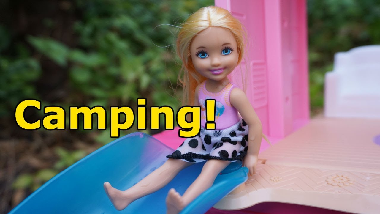 Barbie And Chelsea Go Camping And Get Mad At Each Other