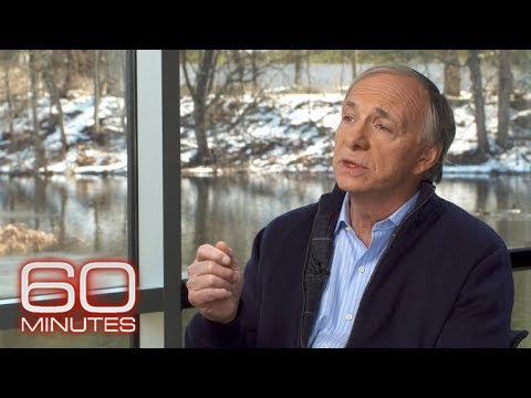 "A portion of the ""60 Minutes"" segment featuring Ray Dalio."