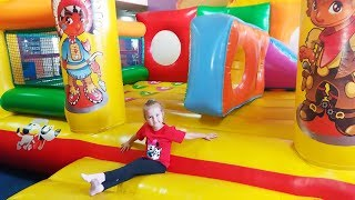Indoor Playground Family Fun Play Area Nursery Rhymes Song For Funny Kids