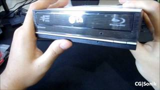 LG 3D Playback Blu-ray Disc Rewriter Unboxing