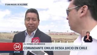 La cárcel donde está preso el comandante Emilio en México