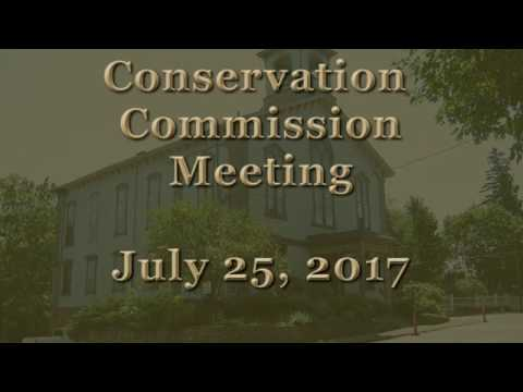 Conservation Commission Meeting