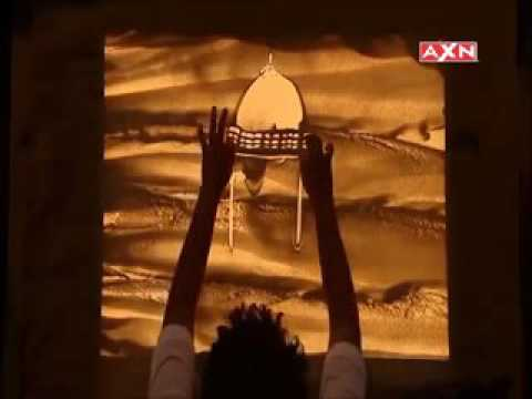 Indian Sand Artist Nitish Bharti in Asia Got Talent