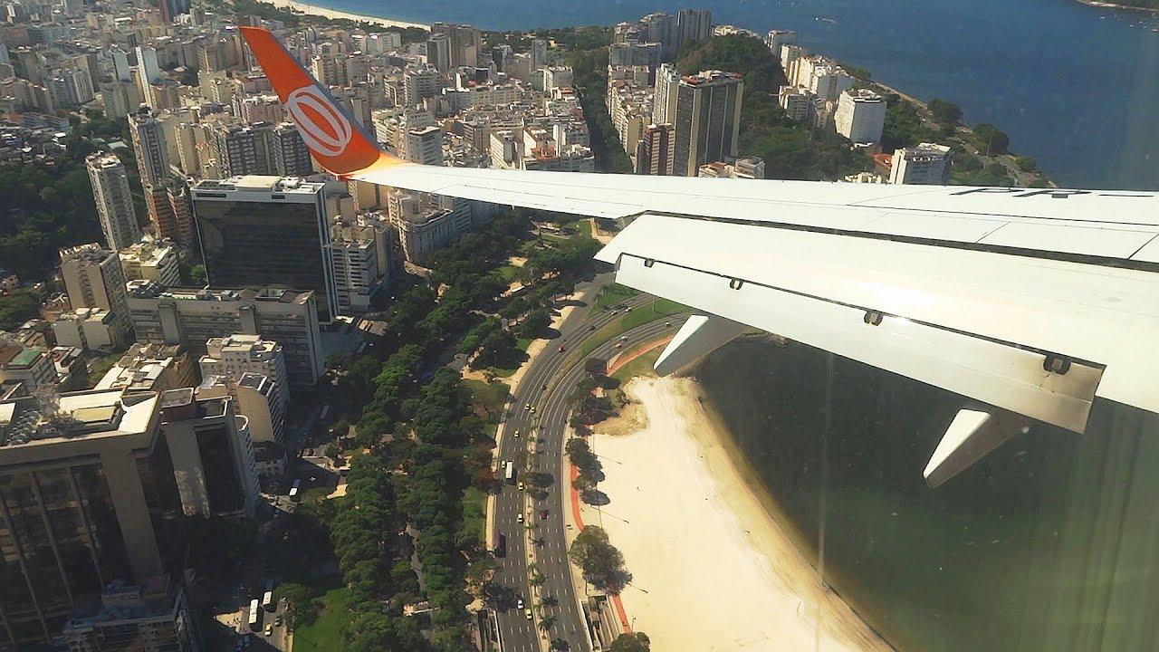 Aeroporto Santos Dumont : Pouso no aeroporto santos dumont hd youtube