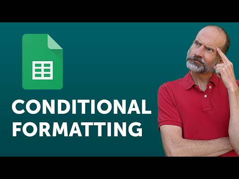 Google Sheets - Conditional Formatting Based on Another Cell - YouTube