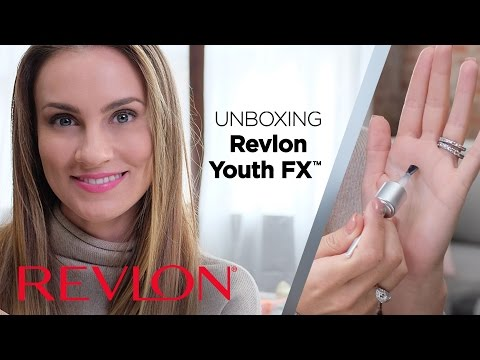 Unboxing the Anti-Aging Revlon Youth FX Collection with Angela Lanter | Revlon