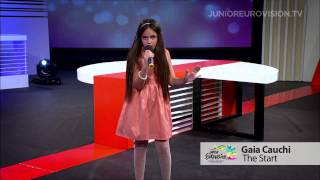 Gaia Cauchi - The Start (Malta) Junior Eurovision Song Contest 2013