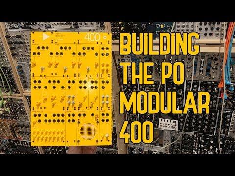 Building The Teenage Engineering Pocket Operator Modular 400