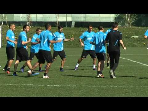 allenamento del 31-03-2012