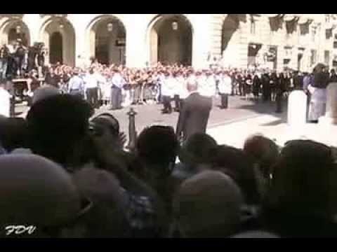 The Funeral of Dom Mintoff 2012
