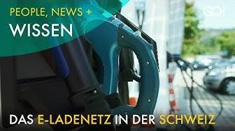 Zustand und Ausbau des E-Ladenetzes in der Schweiz