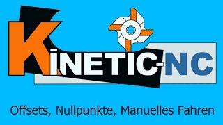 KinetiC-NC / Offsets, Nullpunkte, Manuelles Fahren und Softlimits