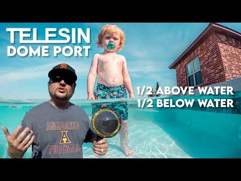 Telesin DOME PORT / Showcase & Review!