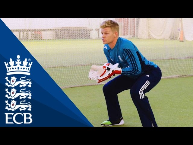 Sam Billings On How To Improve Your Positioning - England Cricketing Tips