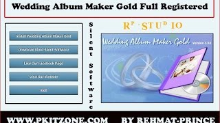 Wedding Album Maker Gold 3.52 Full Crack Keygen Free Download