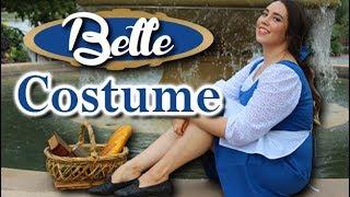 Easy DIY Belle Costume