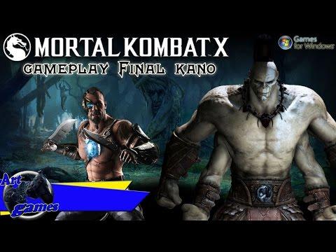 Mortal Kombat X 4K 60fps PC Max Settings gameplay - Final kano