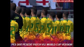 PES 2017 PESEDIT V1.1 PATCH 2018/19 | WORLD CUP EDITION