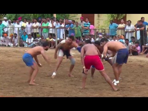 JANETPURA (Jagraon) ! 2nd. NAHAR SINGH JI MEMORIAL KABADDI TOURNAMENT - 2015 ! OPEN ! HD ! Part 2nd.