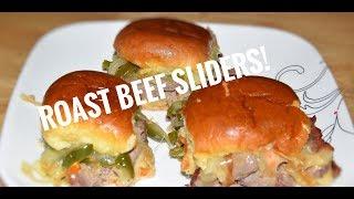 Roast Beef Sandwich Recipe - Roast Beef Sliders