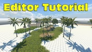 BeamNG DRIVE Editor Tutorial - How to Make Terrain or Map