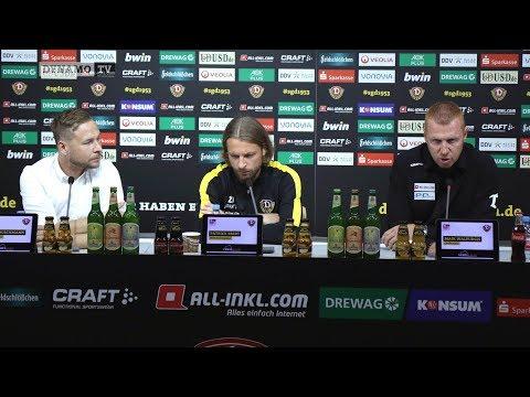 11. Spieltag | FCU - SGD | Pressekonferenz vor dem Spiel