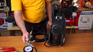видео Компрессор воздушный Fubag Hobby Master Kit купить