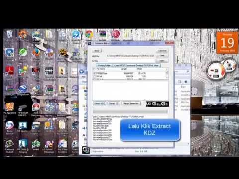 Tutorial Convert KDZ ke Zip LG L70