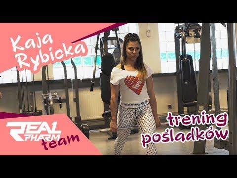Kaja Rybicka Real Pharm Team - trening pośladków