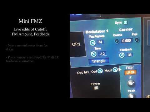 mini FMZ - Live edits - Bass line (HQ Audio - No talk)
