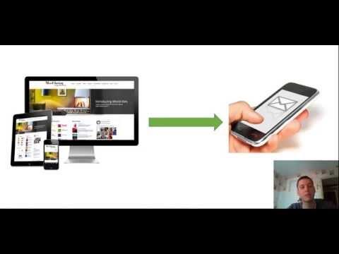 Как БЕСПЛАТНО настроить смс уведомление на телефон когда приходит заявка с сайта