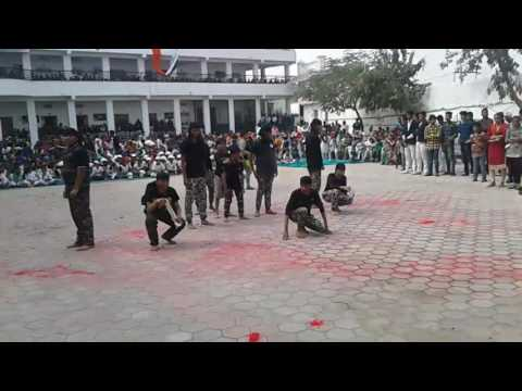 Patriotic hip hop dance  by vivek and group( The nobles school)