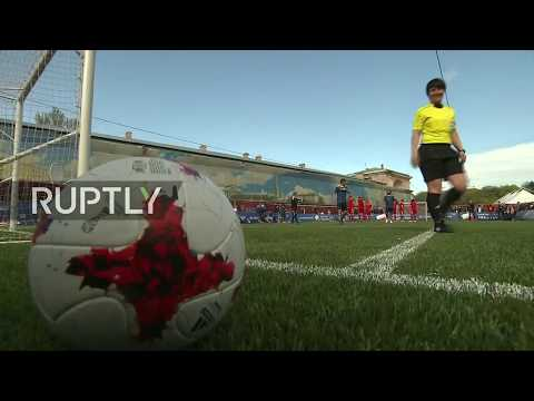 Watch FIFA legends and Russian stars face-off in pre-Confed Cup match in St. Petersburg