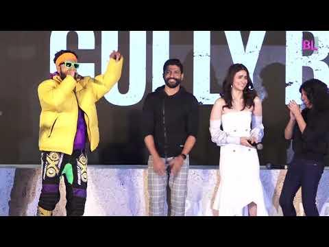 Gully Boy trailer launch   Uncut 01   Ranveer Singh, Alia Bhatt, Zoya Akhtar, Farhan Akhtar, Nassar