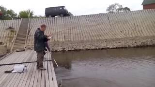 Ловля щуки на р.Припять.Беларусь.