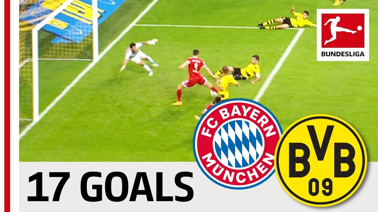 Download Aubameyang, Lewandowski, Reus & More - Borussia Dortmund vs. Bayern München - All Supercup Goals