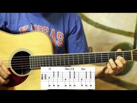 Kentucky Waltz on Guitar- Western Swing Chords- Advanced Lesson