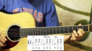 Kentucky Waltz on Guitar- Western Swing Chords- Advanced Lesson