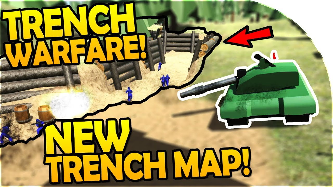TRENCH WARFARE - Ravenfield NEW TRENCH MAP - NEW Ravenfield CUSTOM MAPS  UPDATE - Ravenfield Gameplay