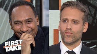 Stephen A. calls out 'Spock Kellerman' for making an emotional NFL prediction | First Take Video