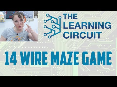 The Learning Circuit - Wire Maze Game