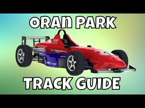 iRacing Skip Barber Track Guide - Oran Park S4 2017