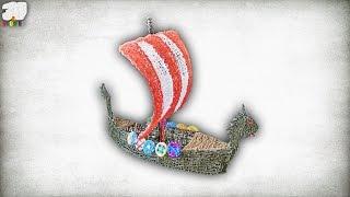 Vikings War Ship 3D design