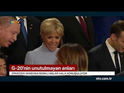 G-20'nin unutulmayan anları... (Zirvenin renkli anlar hala konuşuluyor)