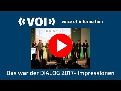 DiALOG und VOI-Jahreskongress 2017 in Hamburg - Impressionen