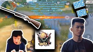 TOP 5 1V5 + TEAM WIPES with the WRO! Rules Of Survival Best Plays!