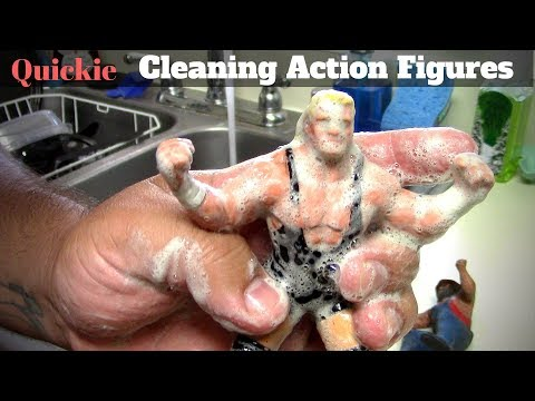 Quickie: Cleaning Figures